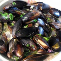 Fresh Maine Mussels